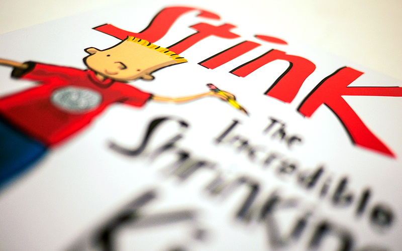 Stink The Incredible Shrinking Kid Book Cover