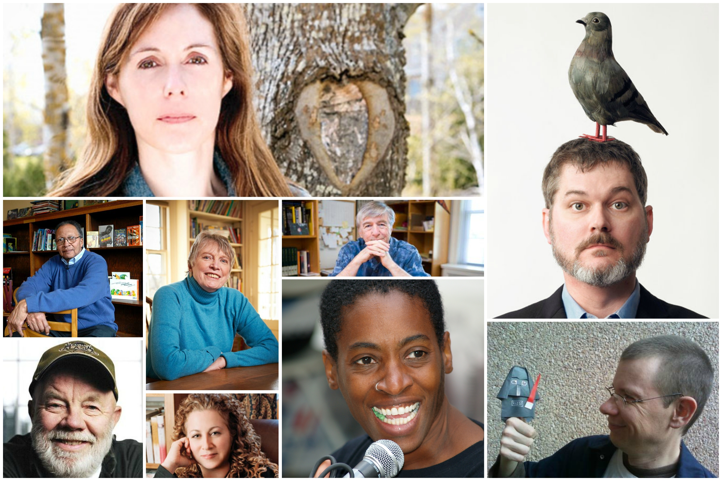 Author Interviews Collage