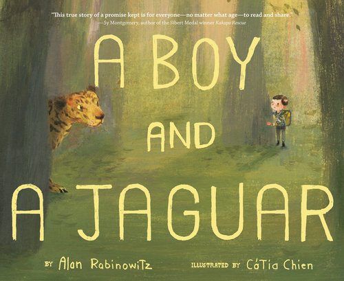 A Boy and Jaguar by Alan Rabinowitz