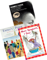 National Poetry Month resources: books for a kindergarten poetry unit