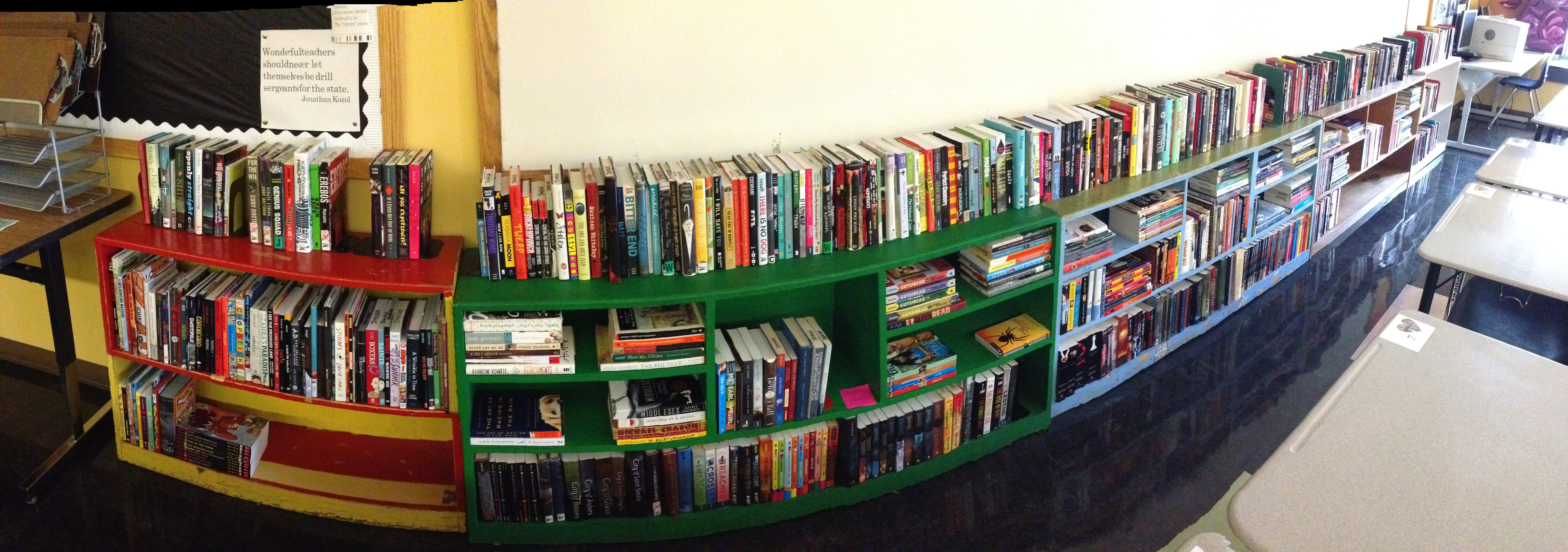 Classroom Libraries of Secondary Teachers