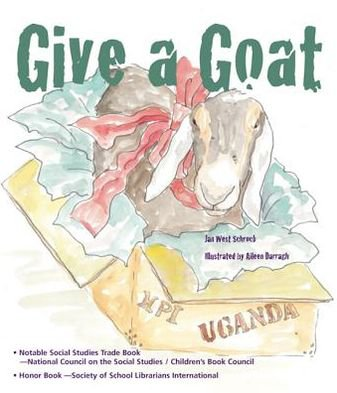 social justice books for elementary readers: give a goat