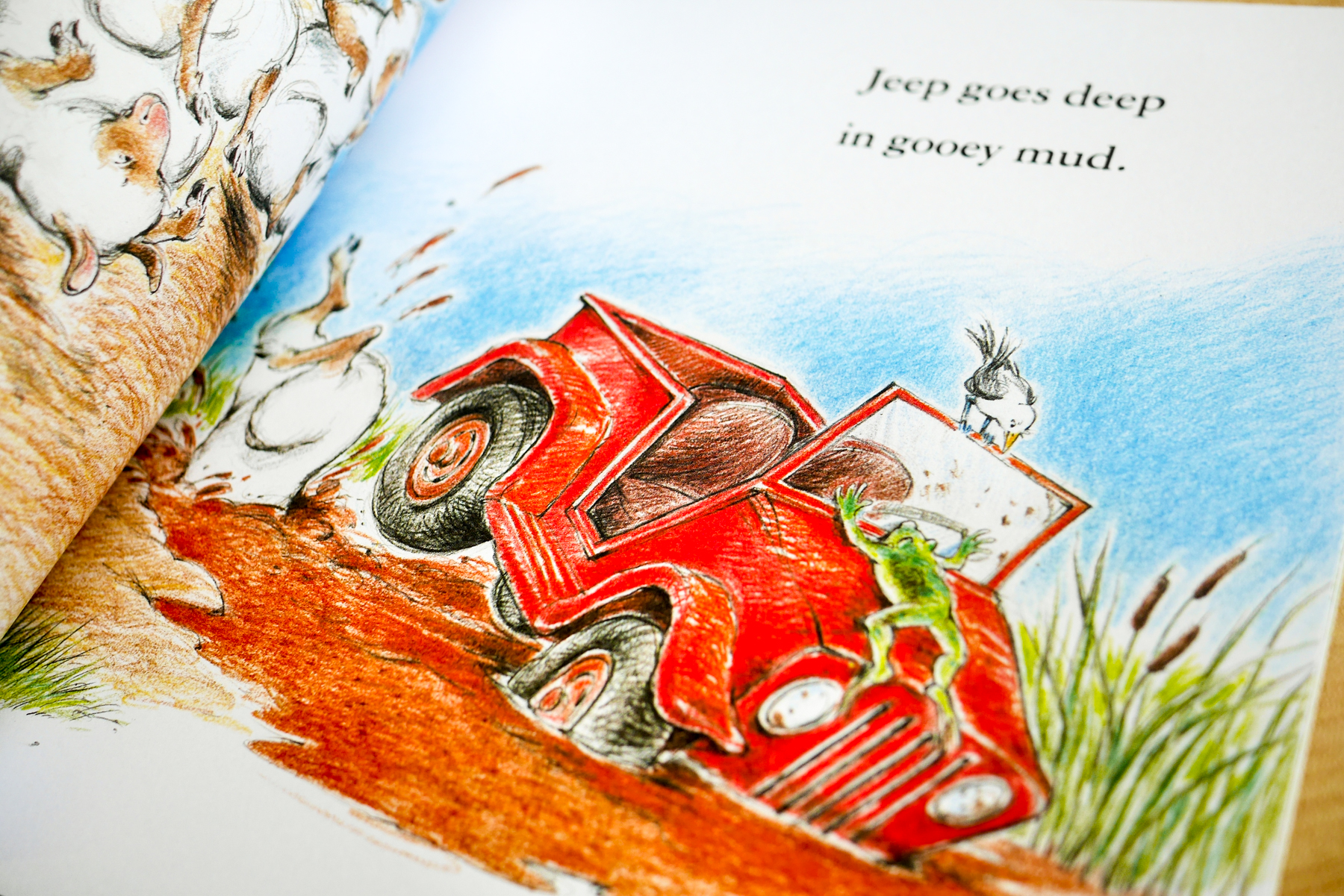 Jeep Goes Deep In Gooey Mud - Read Aloud Books