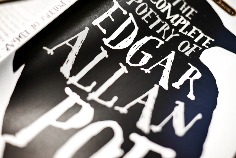 The Complete Poetry of Edgar Allen Poe Book Cover