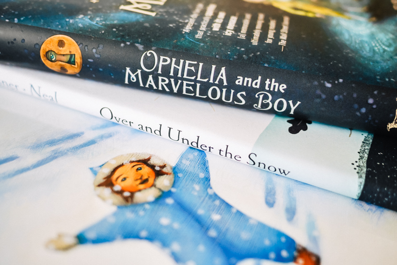Book Covers Ophelia and the Marvelous Boy