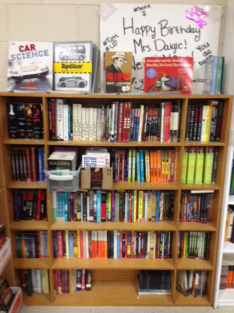 Mrs. Daigle Classroom Library Collection