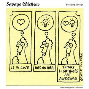 Savage Chickens - Graphic Novels 101