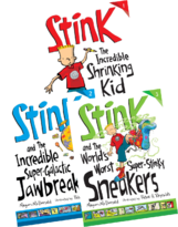 Children's Book Week Ideas: Stink Collection
