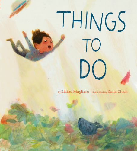 Picture poetry book Things to Do