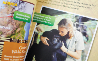 picture book biographies about women in STEM: Jane Goodall