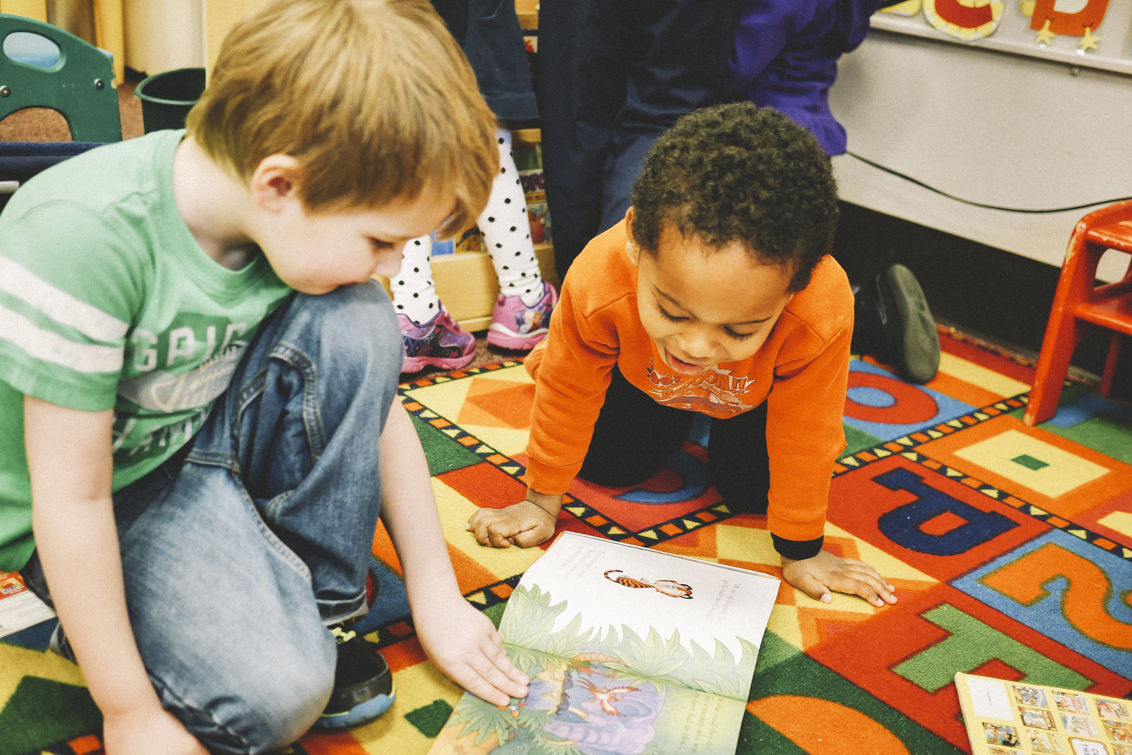 early childhood readers