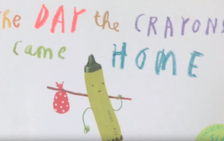 The Day the Crayons Came Home book trailer