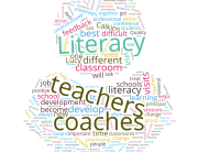 Literacy Coach - Teacher Word Cloud