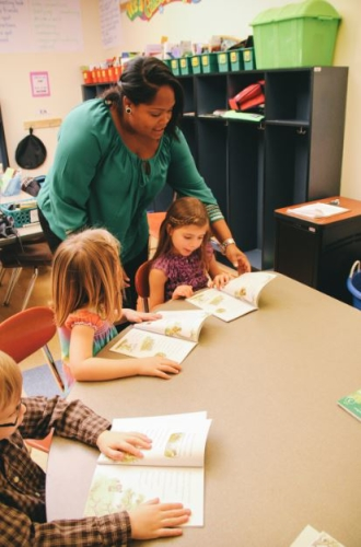 Small group instruction: Guided Reading
