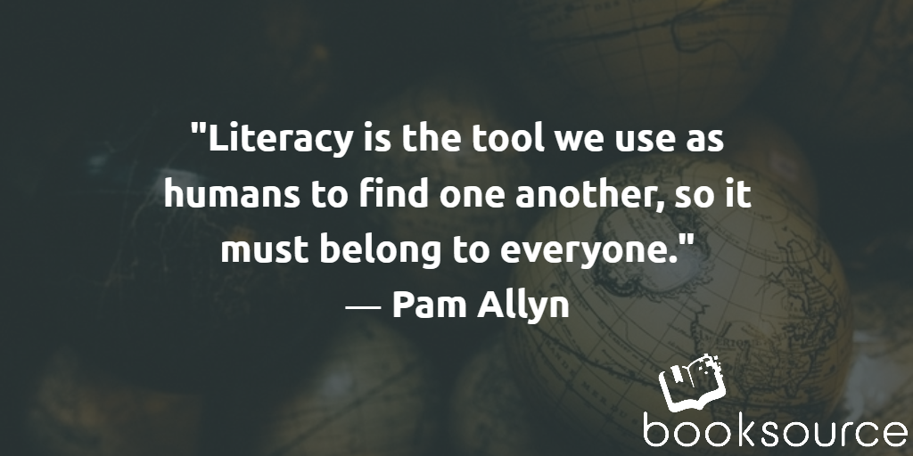 Pam Allyn Literacy Quote
