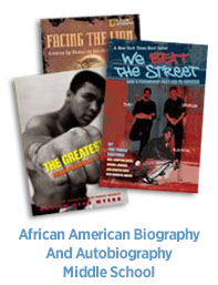 African American Biographies and Autobiographies Intermediate Books