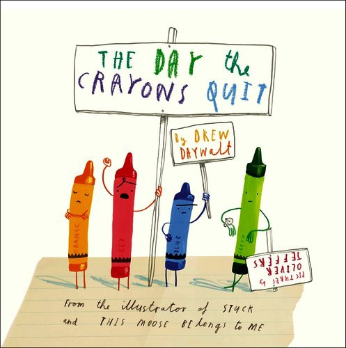Book Trailers: The Day The Crayons Quit